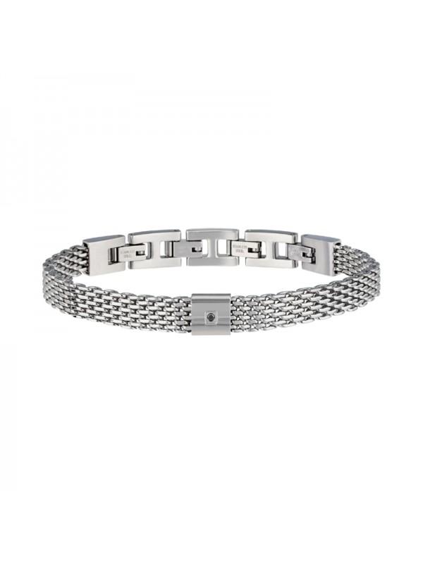 Bracciale Uomo Gioielli Breil Black Diamond TJ2954