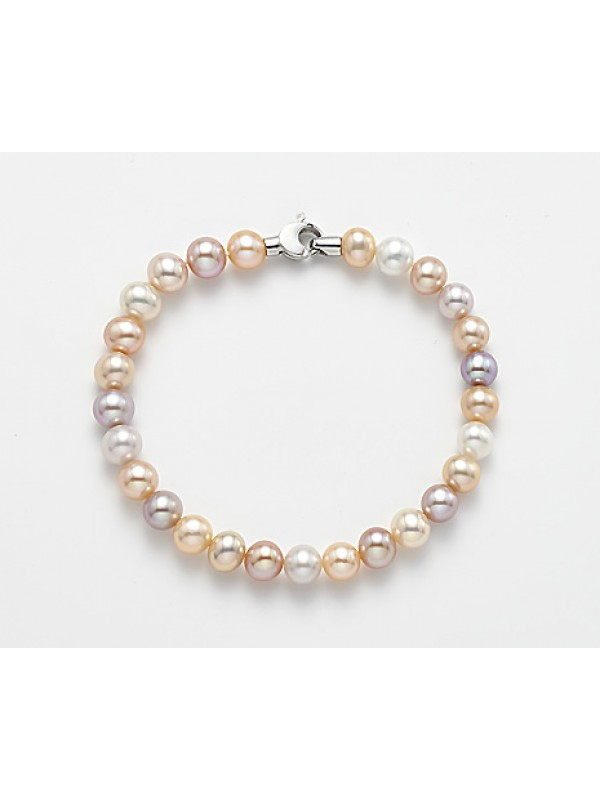 Bracciale Oro Bianco, Perle Donna MiKiKo M.GBRTRM360B
